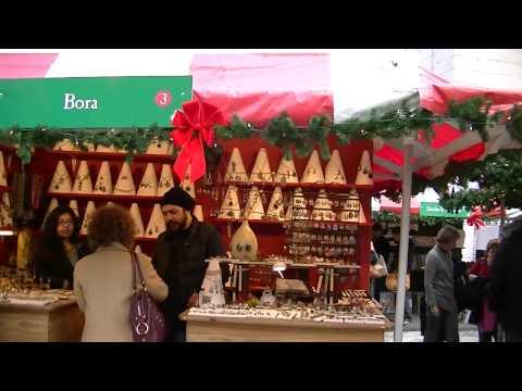 Christmas Market NYC Columbus Circle December 2011