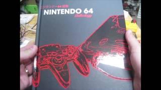 N64 Anthology book box opening