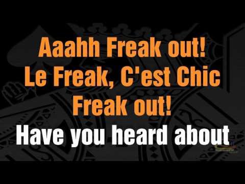 Chic - La freak - Karaoke HD 1080p Demo 🎤
