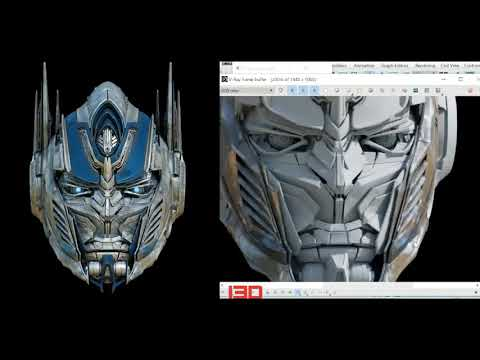 Key to CGI Transformers CGI 3d Models [VISIT inside3dedu.com]
