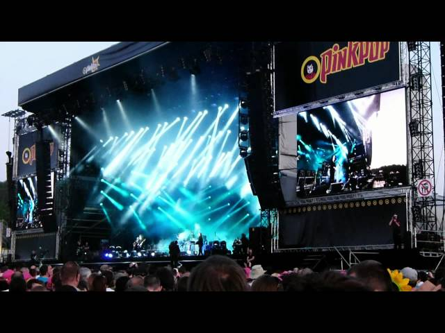 Pinkpop 2012 - The Cure met 'Lullaby'