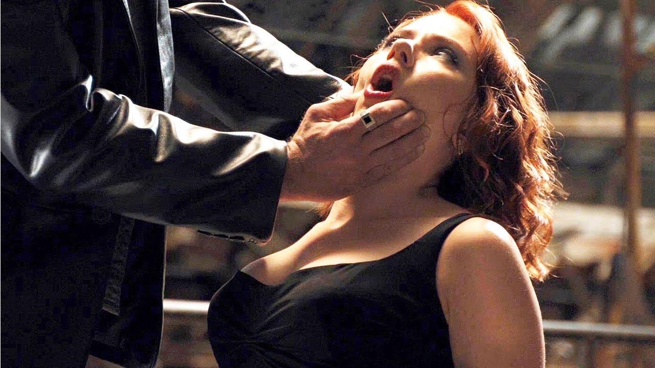 BLACK WIDOW Interrogation Scene   Scarlett Johansson