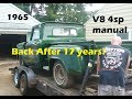 1965 Chevy Pickup Left 17YRS! - A Supercharged Ford & COYOTE Studebaker