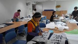 DSCN9666  광진문화예술회관 한국화 수묵채색산수화…