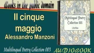 Il cinque maggio Alessandro Manzoni Audiobook Poetry