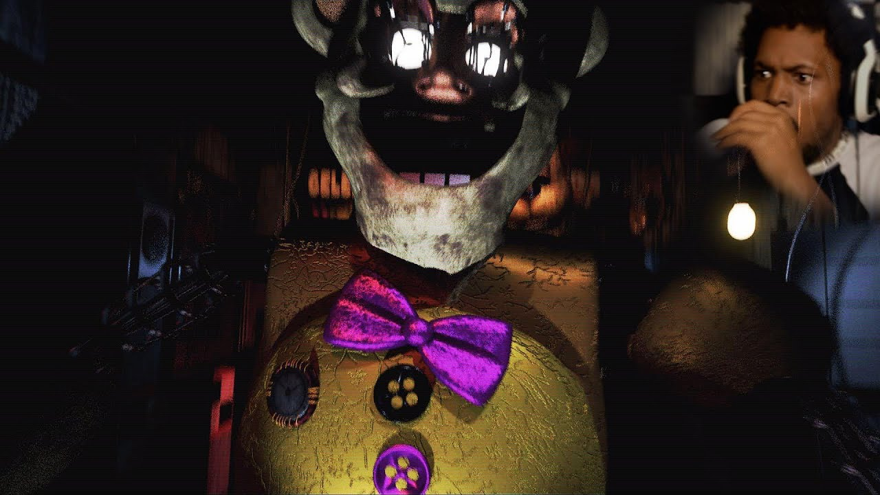 WAIT, ARE WE PHONE GUY FROM FNAF1!? | Fredbear's Fright (Part 2)