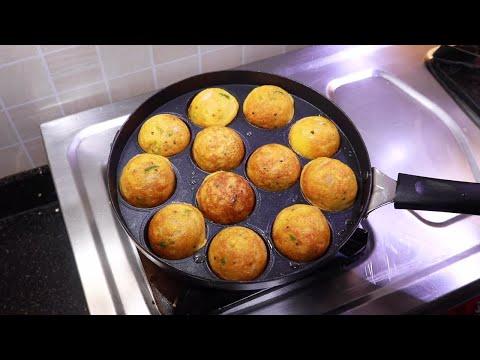 सूजी और हरी सब्ज़ियों से बना हेल्दी नास्ता   Rava Appe   Sooji Appam   Appam Recipe   KabitasKitchen