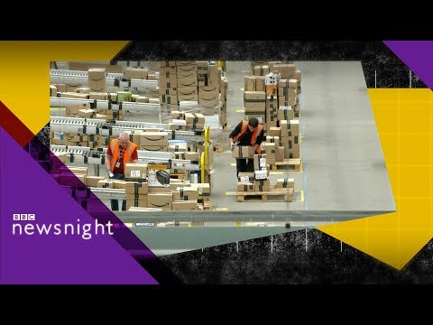 Inside Amazon: The Rugeley warehouse - BBC Newsnight