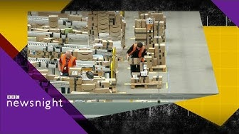 Inside Amazon: The Rugeley warehouse - BBC Newsnight
