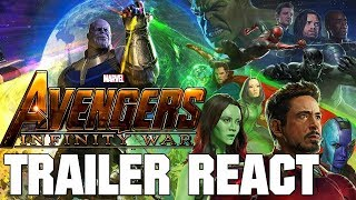 The Avengers: Infinity War Trailer - React
