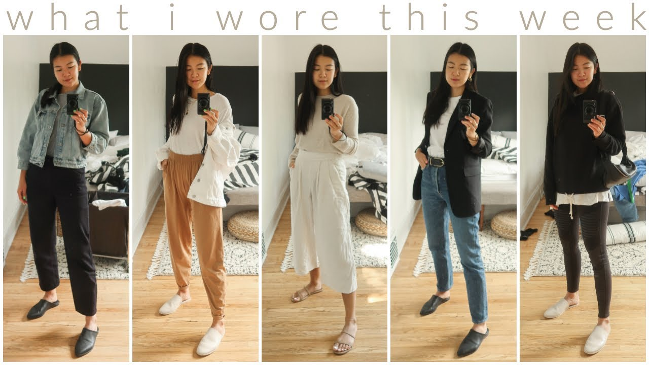 FALL OUTFIT IDEAS | WHAT I WORE THIS WEEK