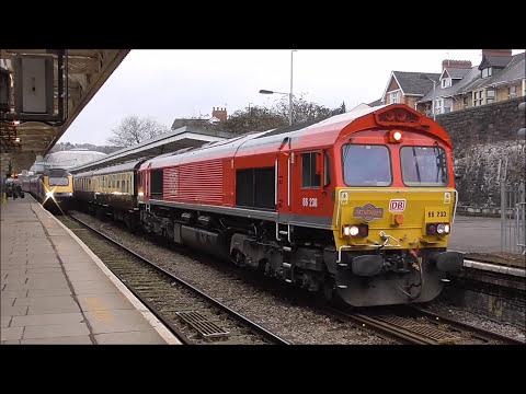 DB 66230 & 60001 - The Severn Aggregator - 13/1/18