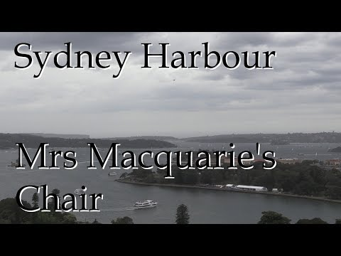 Sydney Harbour - View over Mrs Macquarie's Chair
