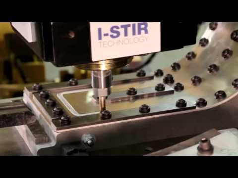 Robotic Friction Stir Welding (FSW) with PaR Systems' I-STIR Technology & FANUC Robot