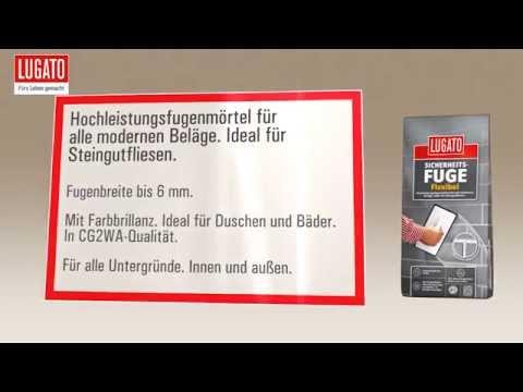 fliesen verfugen mit sicherheitsfuge flexibel von lugato youtube