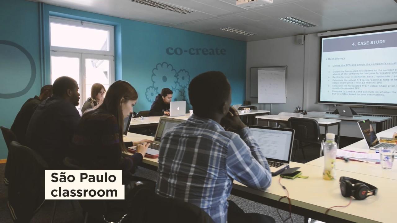Business School Lausanne Virtual Tour Youtube