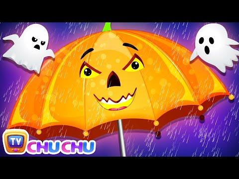 Rain Rain Go Away Halloween🎃 Song with Babies - ChuChu TV Nursery Rhymes & Kids Songs