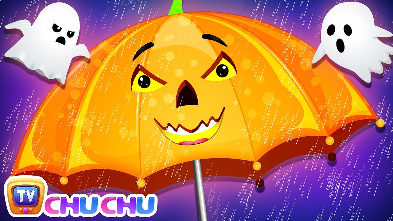 Rain Rain Go Away Halloween🎃 Song with Babies - ChuChu TV Nursery Rhymes & Kids Songs