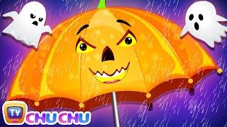 Rain Rain Go Away Halloween???? Song with Babies - ChuChu TV Nursery Rhymes & Kids Songs