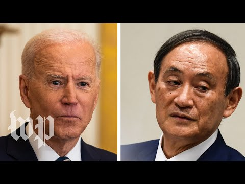 WATCH: Biden holds joint news conference with Japanese Prime Minister Suga