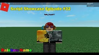 ROBLOX Script Showcase Episode #32 - Rainbow Name