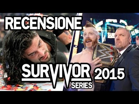 Recensione WWE Survivor Series 2015