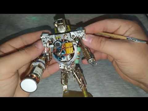 Робот из хлама своими руками