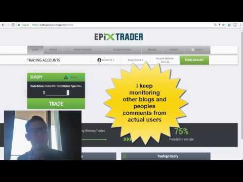 ™Epix Trader FIRST RESULTS First Profits