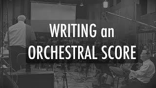 An easy approach to writing an Orchestral Cue using virtual instruments