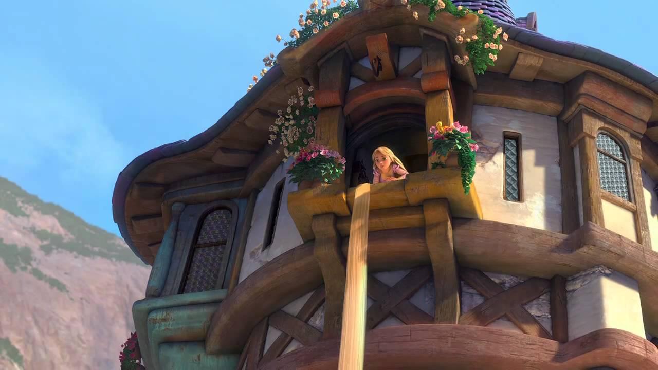 Resultado de imagem para rapunzel e a torre
