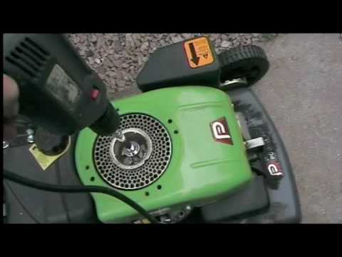 Watch on diagram of a lawn mower engine