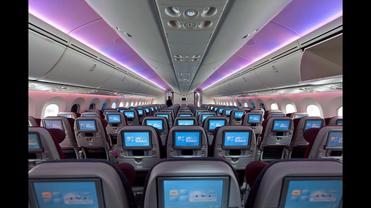 Qatar airways economy class jakarta doha cgk doh for Interior 787 avianca
