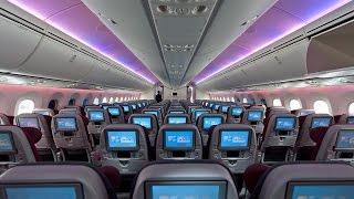 QATAR AIRWAYS | ECONOMY CLASS | JAKARTA-DOHA | CGK-DOH | BOEING 787-8 DREAMLINER