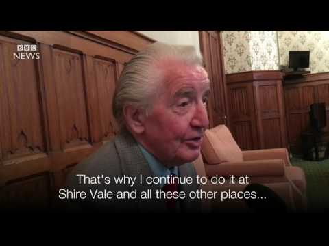 A rarely seen, or heard, side of Dennis Skinner MP   BBC News