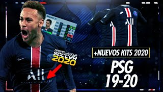 Dream league soccer kits psg 2019