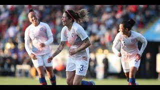 Chile 2 - 1 Sudáfrica | Amistoso 2018 | Fútbol femenino