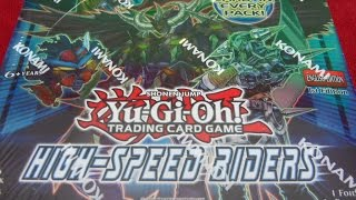 Opening the Best Yugioh High-Speed Riders 1st Edition Booster Box Ever! A Foil Card in Every Pack!