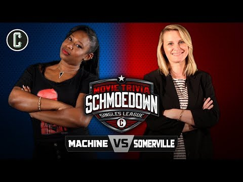 Jeannine the Machine vs. Bonnie Somerville  Movie Trivia Schmoedown
