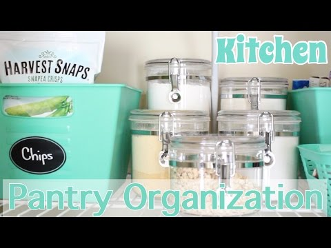 Kitchen Pantry Organization + GIVEAWAY(Closed)
