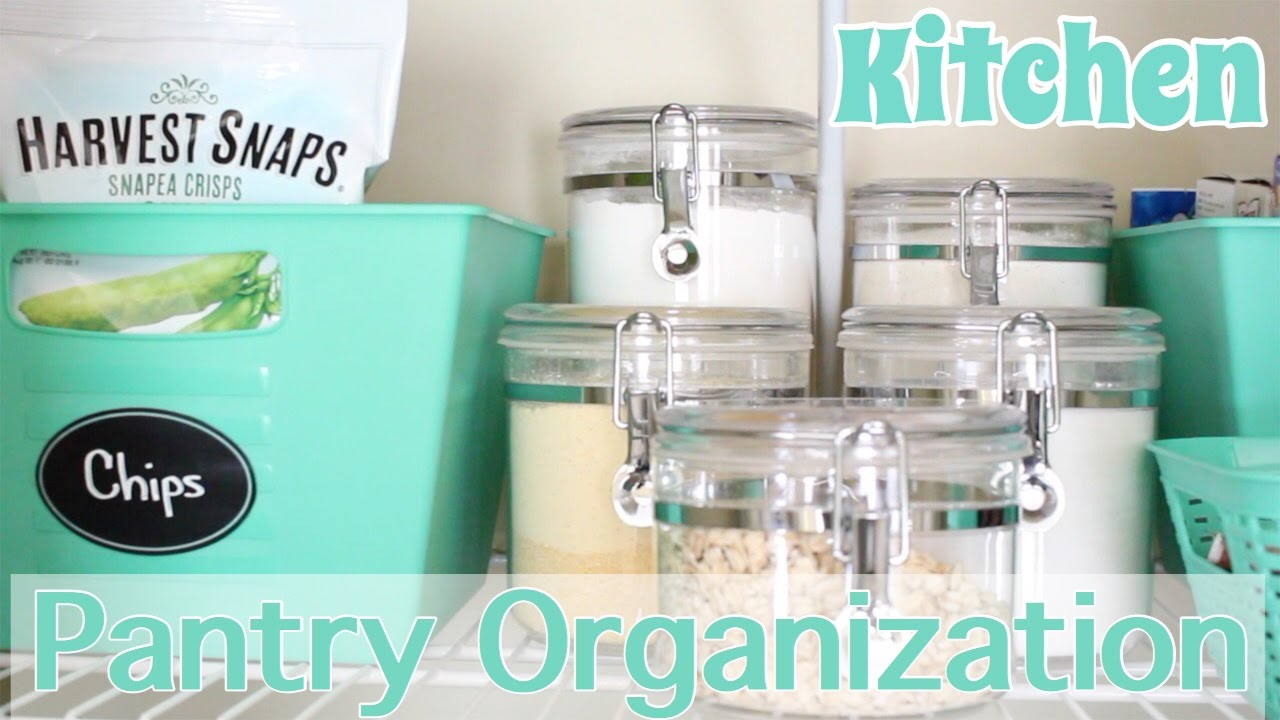Kitchen Pantry Organization + GIVEAWAY! - YouTube