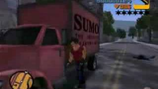 GRAND THEFT AUTO 3 - VEGETA DRAGON BALL GT & Z