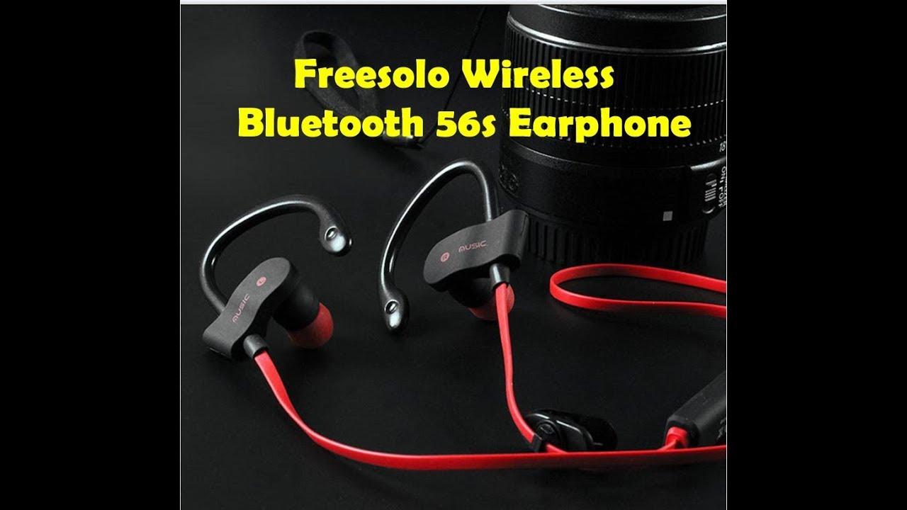 b27cb746fc8 Freesolo Wireless Bluetooth Earphone - 56s Sports - YouTube