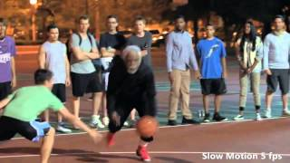 Uncle Drew Move - Shammgod Between The Leg (HD Slow Motion)