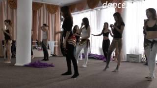 Онлайн урок волна 2 т. Belly Lila Dance School. Восточные танцы в Чернигове