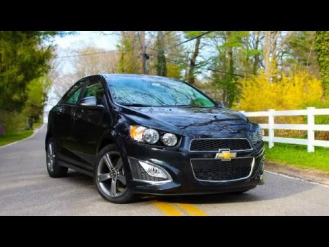 2017 Chevrolet Sonic Rs 1 4l Turbo Test Drive Review