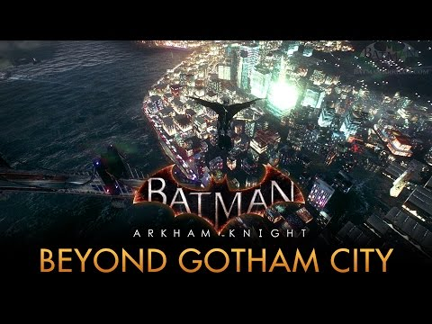 Batman: Arkham Knight - Out of the Game's Map [PC Mod]