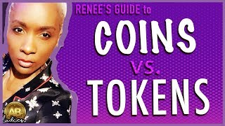 CRYPTO COINS vs. TOKENS : Back to Basics for Cryptocurrency Newbies!