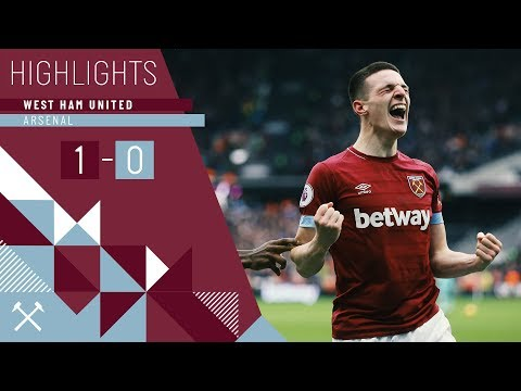 HIGHLIGHTS | WEST HAM UNITED 1 ARSENAL 0 | DECLAN RICE SCORES HIS FIRST GOAL TO CLINCH THE WIN Mp3
