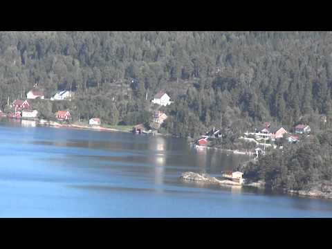 Free relaxing music and video from Norway fjord Hellefjorden, Kragerø and ocean waves