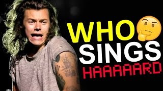 WHO IS SINGING? • LOW PITCHED | One Direction Challenge